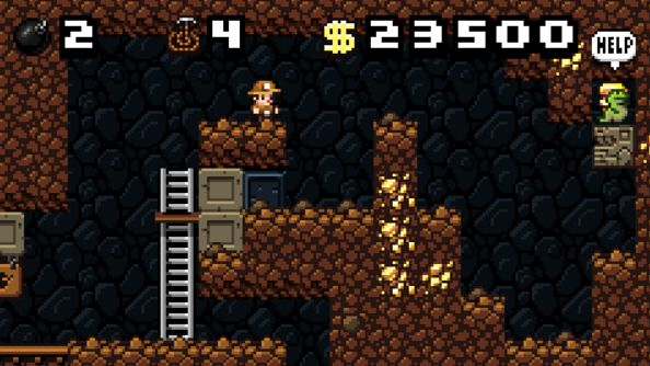Spelunky Classic mod adds two player co-op amongst other improvements
