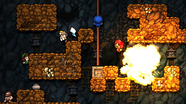 New Spelunky also has a co-op mode, which is nice. If you like accidentally killing you friends (we do).
