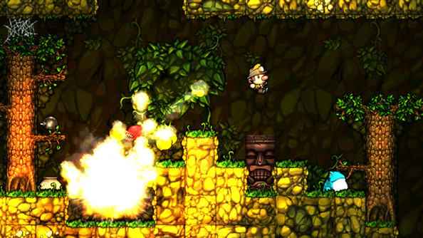 The XBLA version of Spelunky is coming to PC