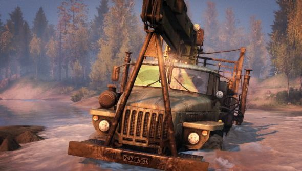Spintires now back on Steam with an official fix for the