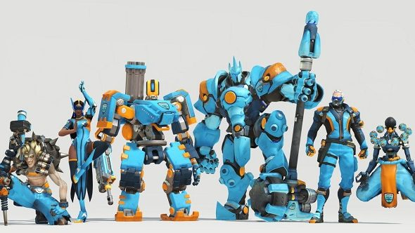 Overwatch League London Spitfire Skins