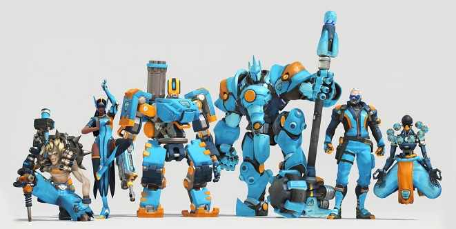 Watch esports to get sprays of Overwatch characters watching esports