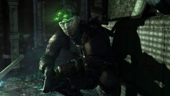 Sam Fisher, as he looked when he walked on the Ironside.