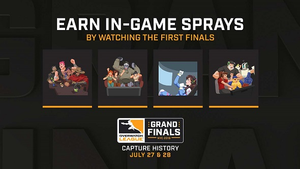 Overwatch League Grand Final Sprays