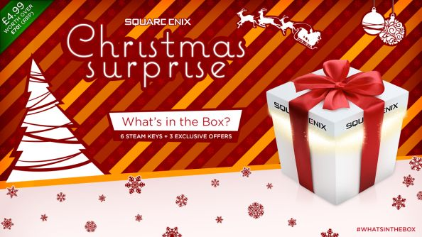 The Square Enix Christmas Surprise: swing six mystery Steam games for a fiver