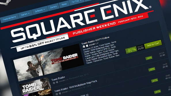 Square Enix is having a ridiculously big Steam sale this weekend