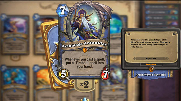 Hearthstone Archmage Antonidas
