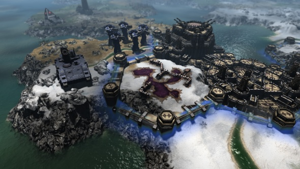 Warhammer 40,000: Gladius - Relics of War puts a hex-based 4X spin on the setting
