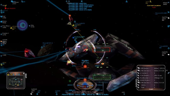 Microsoft's space combat/strategy hybrid Allegiance relaunches free on Steam