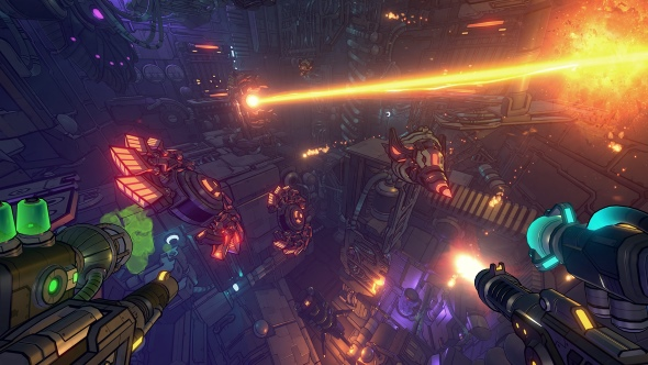 Alientrap's underrated mech-suit roguelite Cryptark is getting an FPS sequel: Gunhead