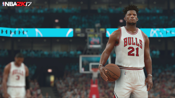 NBA 2K17 bugs