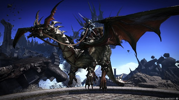 Final Fantasy XIV: Heavenward benchmark trailer shows off the expansion at its prettiest