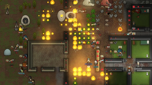 RimWorld enters beta, bringing major changes to the space-western Dwarf Fortress-like