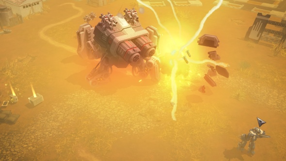 AirMech Wastelands is out on Early Access, bringing a solo campaign to the action-RTS