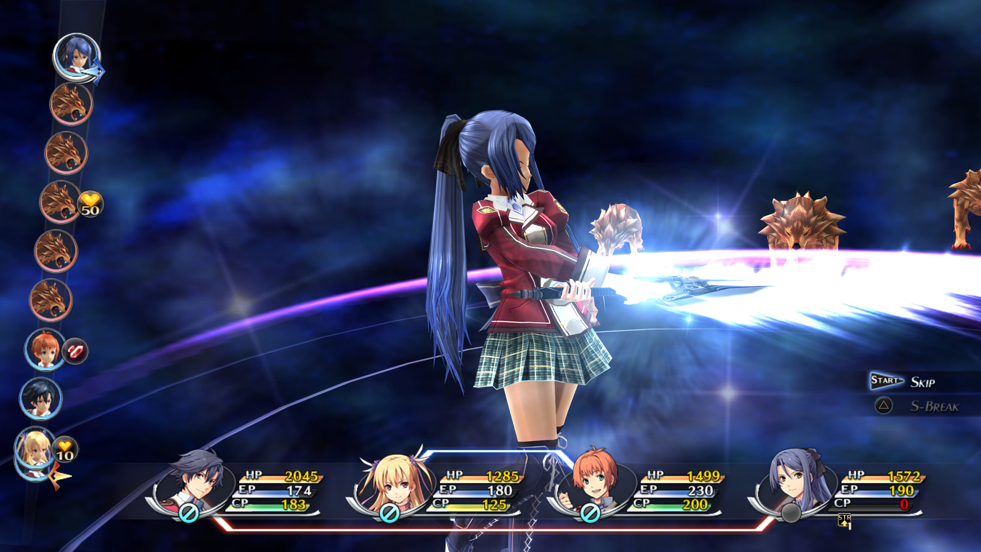 Ps Vita Classic Trails Of Cold Steel Out Now On Pc With 5000