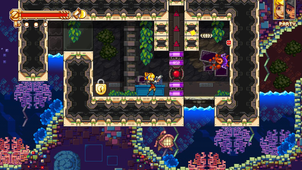 Over a decade in the works, Konjak's ambitious solo metroidvania Iconoclasts is out this month
