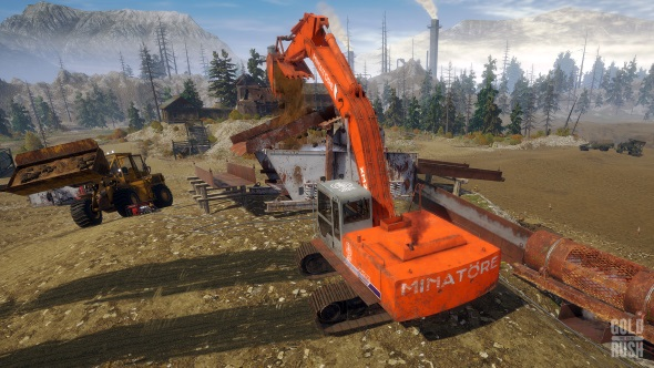 Heavy machinery sim and TV tie-in Gold Rush: The Game becomes a surprise hit on Steam