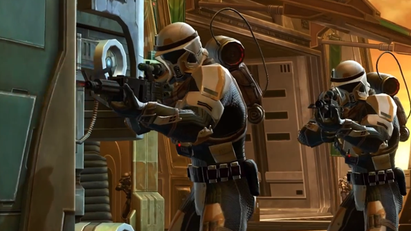 Star Wars: The Old Republic 2.3 update trailer is full of threats and foreboding