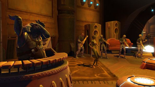 Take another look at Star Wars: The Old Republic. It's quite good.