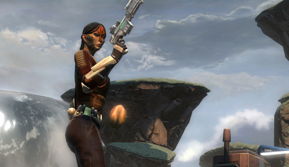 Star Wars: The Old Republic's Customisation update is now live, makes switching species a doddle