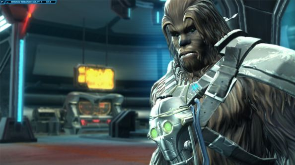 Things are set to get hairy again in Star Wars: The Old Republic.
