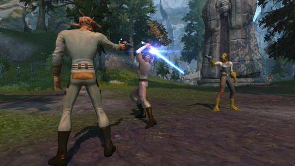 "BioWare's Old Republic studio hammering away at ""several"" unannounced projects"