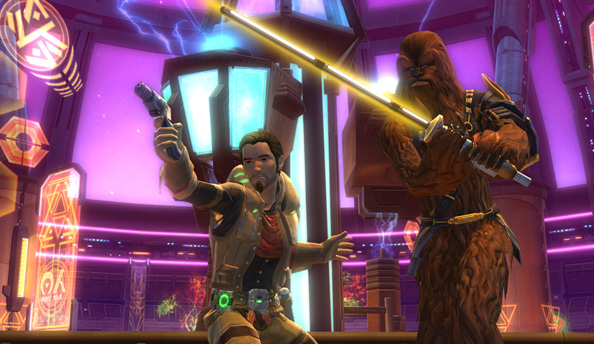 The future of Star Wars: The Old Republic: end game improvements, more PvP and same-sex romance to come in 2013