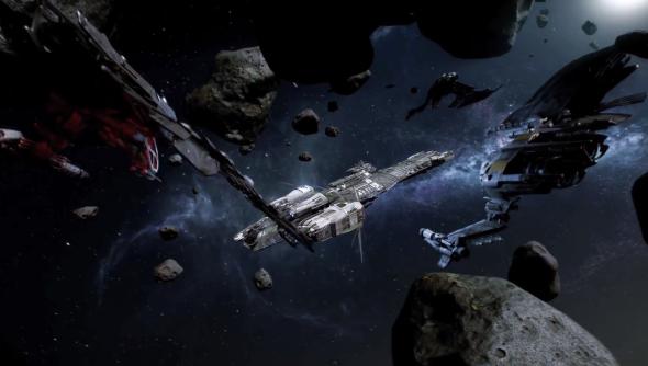 Pretty ships in pretty space.