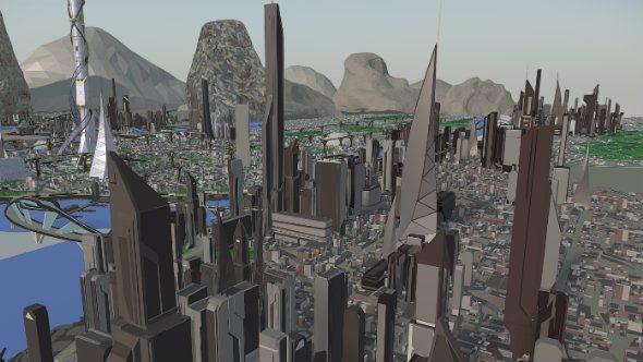Star Citizen city