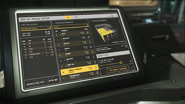 star citizen kiosk player economy