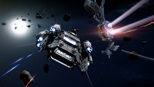 The dogfighting module of Star Citizen is progressing nicely - but the complete game is light years off.