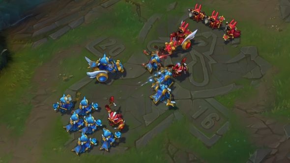 League of Legends patch 6.20 Star Guardian Minions