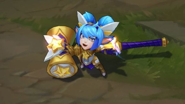 Star Guardian Poppy in-game