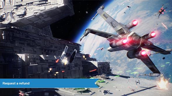 Star Wars Battlefront 2 refund