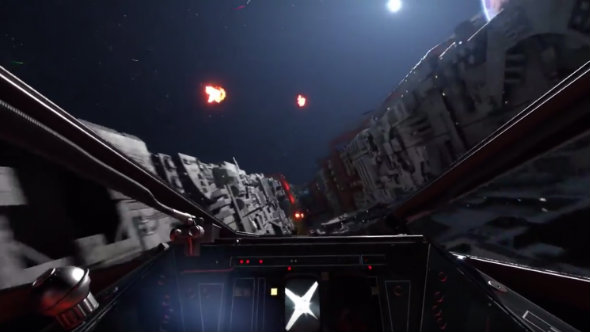 Star Wars Battlefront's Death Star gameplay trailer finally