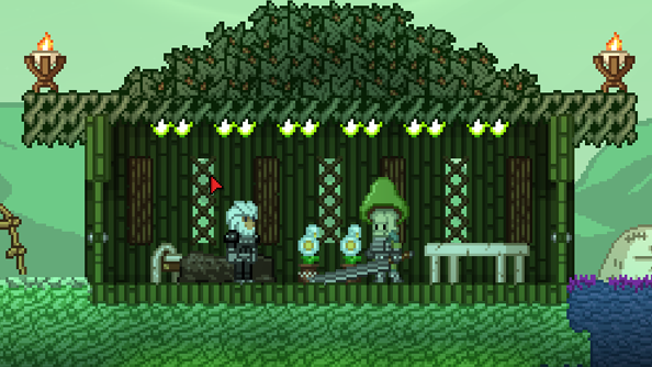 Starbound invaded by Agaran funghi