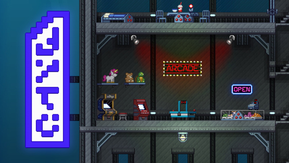 "Starbound character wipes a thing of the forgotten past; ""Watch out for landmines"""