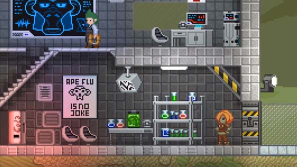 Starbound building trailer shows how its more than just Terraria in space; plus, ape flu
