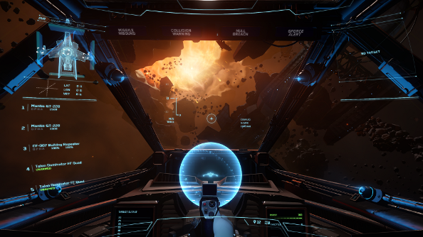 Star Citizen flight and controls