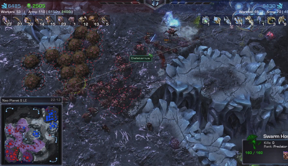 StarCraft 2 custom UIs and Heart of the Swarm replay features on show in new video