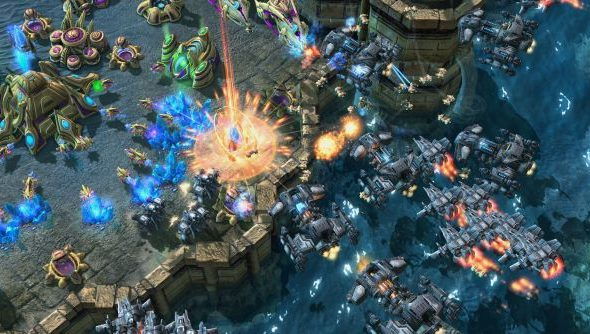 StarCraft II does bans like it does everything else: in waves.