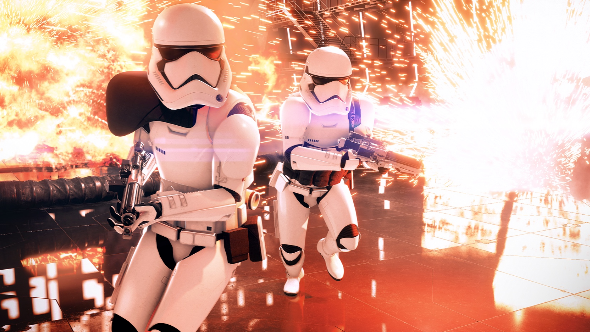 The Battlefront 2 alpha has started - check your email for a code