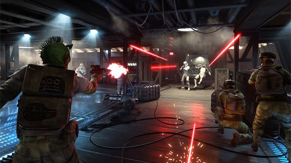 Star Wars Battlefront is getting an all new game mode: team deathmatch