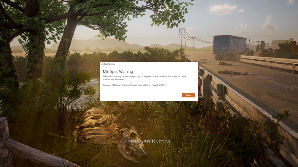 state of decay 2 performance clock speed warning