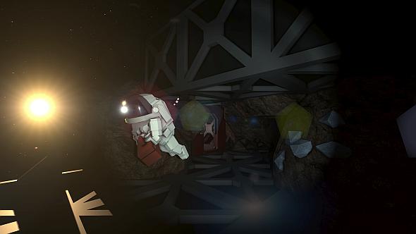 Space walking in Stationeers