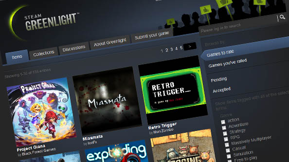 Steam Greenlight launches: begin your upvoting now