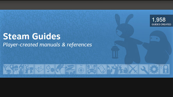 Valve release Steam Guides; whether they can be written with ASCII headings is not confirmed