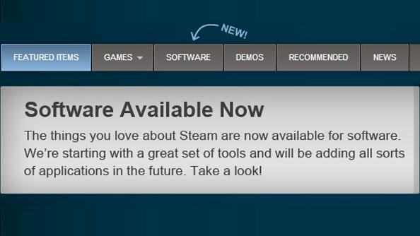 Steam start selling software