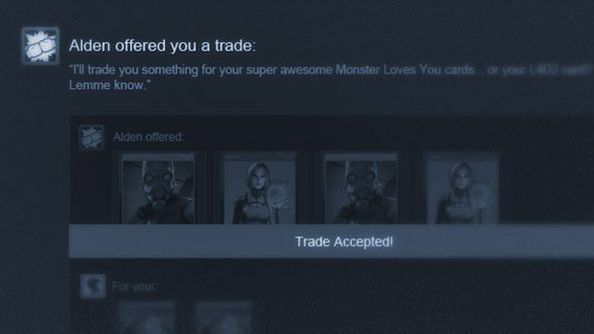 Steam Trading just got a tad more convenient with Trade Offers