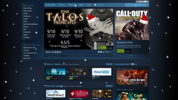 Steam Winter Sale incoming, suggests a PayPal email